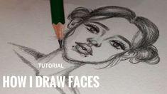 TUTORIAL, HOW I DRAW FACES! – Hildur.K.O