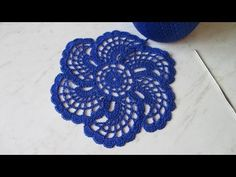 МК вязание крючком (мотив цветочек) ч.1. MK Crochet (flower motif) Part 1. - YouTube