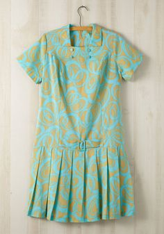 Vintage Counting Croquet Dress, #ModCloth