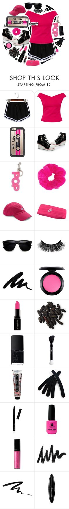 """""""Casetify Throwback Thursday Collection"""" by mrs-rc ❤ liked on Polyvore featuring Ted Baker, Casetify, STELLA McCARTNEY, Vineyard Vines, Asics, ZeroUV, MAC Cosmetics, Smashbox, NARS Cosmetics and Yves Saint Laurent"""