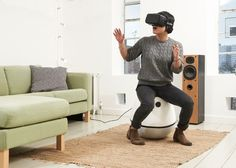 VRGO Virtual Reality Chair Hits Kickstarter From £150 - The VRGO has been designed to be an affordable VR gaming chair that creates an immersive and responsive experience providing hands-free movement at the touch of a button. | Geeky Gadgets