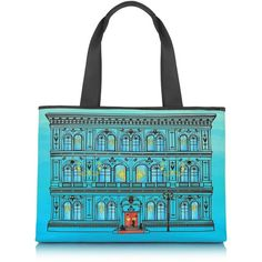 Moschino Love Moschino - Large Canvas Tote ($175) ❤ liked on Polyvore