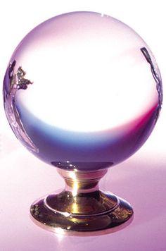 Kristallkugel 120mm Bleikristall Glaskugel Wahrsager Magie ohne Ständer A102893