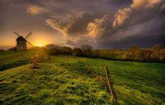 Such lovely light at sunset