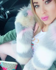 "161 mentions J'aime, 4 commentaires - F U R S C O N C I E R G E® (@marishka_furs_concierge) sur Instagram : ""My lovely Beautiful Dagmarka client @digizdyb from Germany in Luxury Candy Fur PARKA, more…"""
