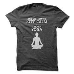 I Teach Yoga T Shirts, Hoodies. Get it now ==► https://www.sunfrog.com/Fitness/I-Teach-Yoga.html?41382 $22.99