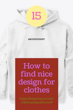Cool Outfits, Sweatshirts, Sweaters, Shopping, Clothes, Design, Fashion, Outfits, Moda