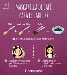 Beauty Care, Beauty Skin, Beauty Secrets, Beauty Hacks, Pelo Cafe, Facial Tips, Cabello Hair, Hair Protein, Do It Yourself Fashion