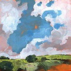 Paul Bailey 'Autumn Dawn ' Canvas Art