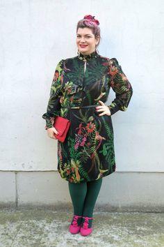 Outfit: un abito floreale