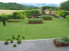 Moderner Garten mit Perspektive | Flickr - Photo Sharing!