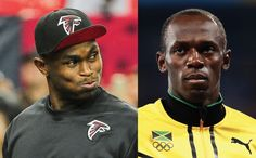 Julio Jones says Usain Bolt wouldn't be able to outrun NFL defenses