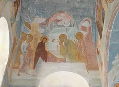 "Dionisius, ""When Symeon was prepared to leave from this age of deception..."" (Akathist. Kontakion 7, The Virgin Nativity Cathedral, Ferapontov Monastery"
