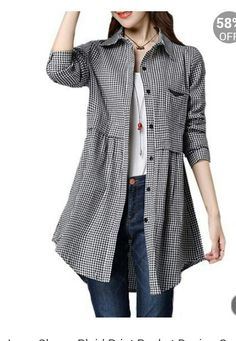 Really cute blouse/jacket. Love 3/4 sleeves.