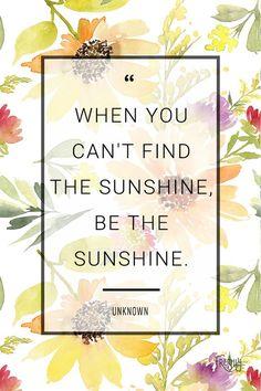 Cheers to finding sunshine, rain or shine! #WordsToInspire #Sunshine #WednesdayWisdom