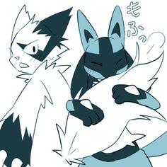 Lucario the Aura Pokémon Lucario Pokemon, Pokemon T, Pokemon Funny, Cool Pokemon, Random Pokemon, Pokemon Stuff, Armin, Best Pokemon Ever, Furry Art