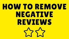 How To Remove Negative Reviews by Ben Laing | Amazon Goldrush How To Remove, How To Get, Teaching, Amazon, Tips, Riding Habit, Advice, Learning, Education