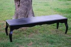coffee table as a bench