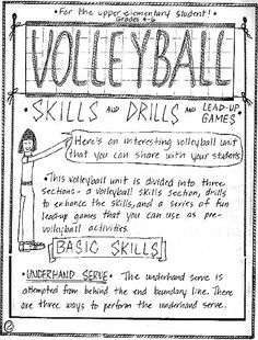 Volleyball Skills and Drills   Great Activities