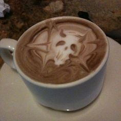 I don't drink coffee, but this is cool
