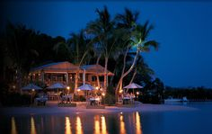 The Dining Room at Little Palm Island Resort