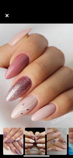 Coral Nails, Pink Nail Art, French Manicure Designs, Nail Art Designs, Get Nails, Hair And Nails, Indigo Nails, Disney Nails, Elegant Nails