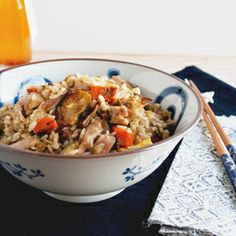 Use your Thanksgiving leftovers to make fried rice!