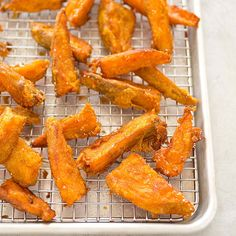 Thick-Cut Sweet Potato Fries | Cook's Illustrated