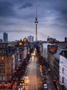Berlin. Oranienburger Straße.