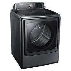 9.5 cu. ft. Capacity Gas Top Load Dryer (Platinum) DV56H9000GP/A2   Samsung Home Appliances