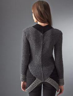 Yarnspirations.com - Patons District 12 Sweater - Patterns  | Yarnspirations