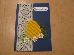 kartka wielkanocna 20 Gift Tags, Envelope, Card Making, Paper Crafts, Easter, How To Make, Gifts, Diy, Stars