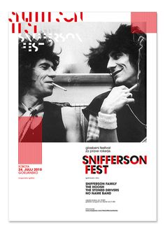 SNIFFERSON FEST 2010 on Behance