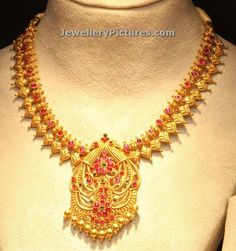 Gold Necklace Simple, Short Necklace, Jewellery Designs, Necklace Designs, Pendant Jewelry, Gold Jewelry, Gold Chain Design, 22 Carat Gold, Antique Necklace