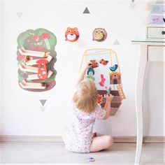 Having fun, little one? Explore the whimsical world of imagination with TreeTop Adventures, Enchanted Garden or the adorable woodland creatures - Roarry or Spikey! What are these amazing wall toys? Its Oribels VertiPlay range of wall toys that transforms plain walls into an interactive experience! Its easy to peel and stick these wall toys on any smooth wall. Highly recommend to all moms who hates stepping on toys on the floor!