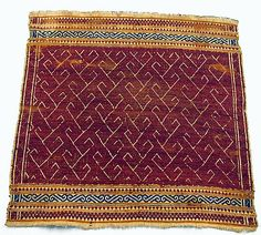 19th century Geography: Indonesia, Sumatra, Lampung province Culture: Lampung Medium: Cotton, silk Dimensions: Length 16-1/2 in. Classificat...