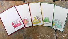 You're Sublime Clean and Simple cards by Jeanna Bohanon #TGIFC13