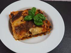Vegane Auberginen-Linsen Lasagne