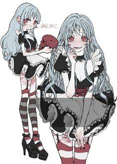 방명록 Art Anime, Manga Art, Anime Comics, Poses References, Goth Art, Pretty Art, Character Design Inspiration, Cute Drawings, Art Inspo