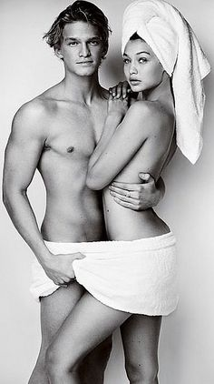 Gigi and Cody Simpson Are the First Couple to Star in Mario Testino's Towel Series