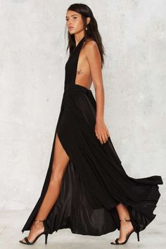 Slit This One Out Maxi Dress - Best Sellers | Back In Stock | Going Out | LBD…