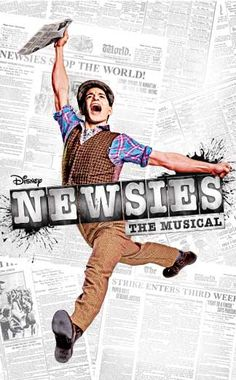 The Newsies on Broadway!!!! Just saw this today with Corey Cott as Jack Kelly. So absolutely amazing, I loved every second. My friend and I wished it wouldn't end. Lol ❤
