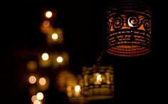What is Bokeh in Photography? What Is Bokeh, Bokeh Photography, Lit Wallpaper, City Streets, Great Pictures, Lanterns, Table Lamp, Candles, Pure Products