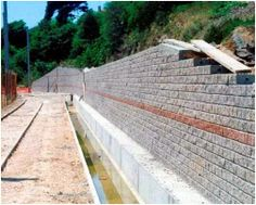 Retaining Walls - Part 2 - Retaining Wall Construction Types - A retaining wall is not randomly constructed, but should be selected and designed to suit individual ground and site conditions