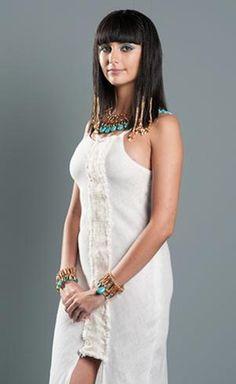 Tammy di Calafiori is Ana, who is half egyptian half hebrew.