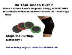 NIKKEN POWERCHIP -DYNAFLUX MAGNETIC FAR-INFRARED NEGATIVE ION TRI-PHASE® TECHNOLOGY. Place 2 Nikken Earth's Magnetic Energy POWERCHIPS In a Nikken KenkoTherm Wrist Far-Infrared Technology Wrap. Stops the Hurting.Naturally ! Order Today only at : www.EarthPatriot.info