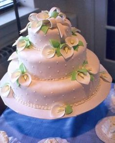 Wedding Cake Pictures by Bredenbeck's Bakery & Ice Cream Parlor