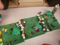 Block play based on rainforest inquiry...why are animals endangered? Why is the rainforest so important?