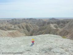 LEGO - Life of George passed Badlands National Park in southwest South Dakota