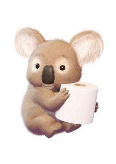 Another cushelle koala - love 'em